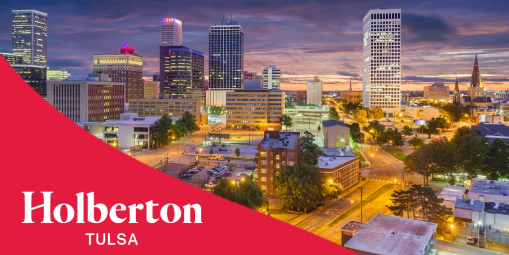 Picture of Tulsa with Holberton brand