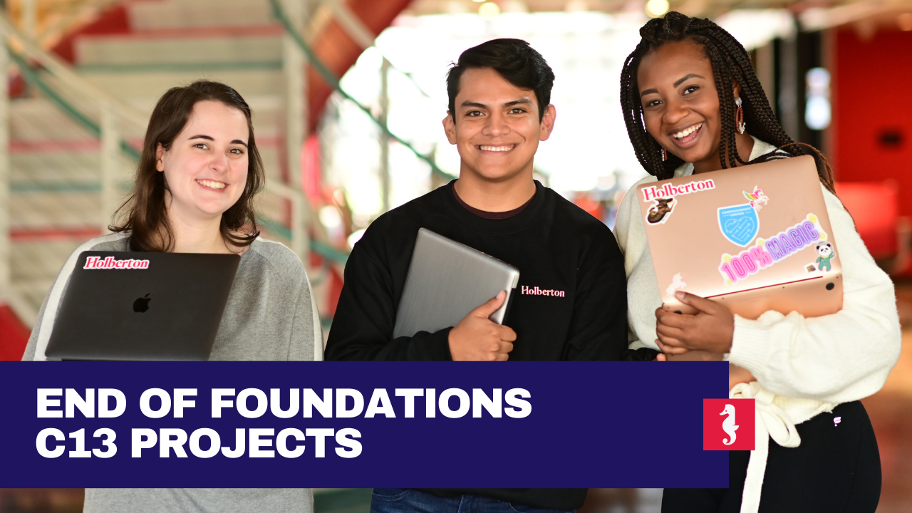holberton school end of foundations projects